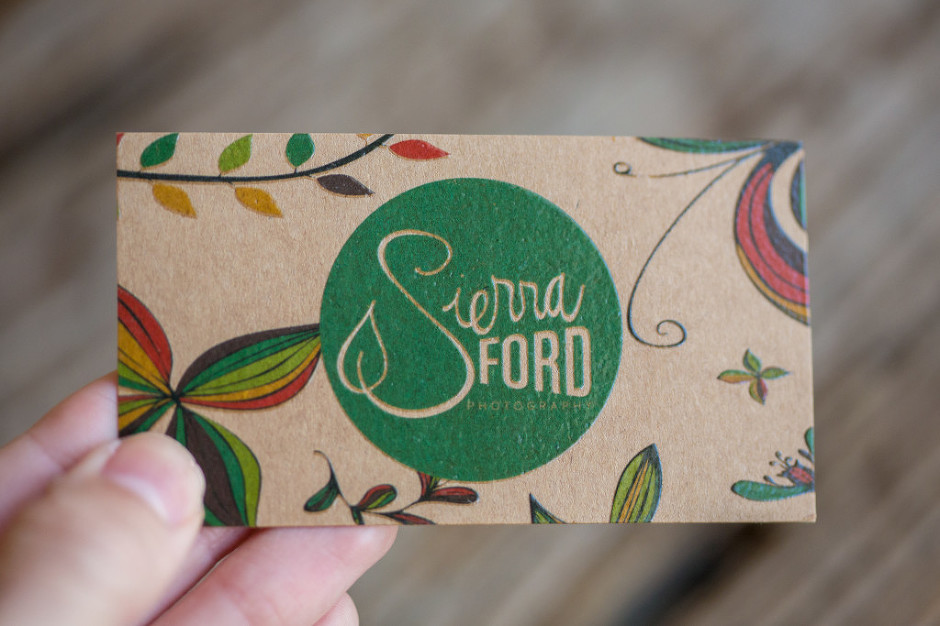 Sierra Ford Photography | Business Card Design