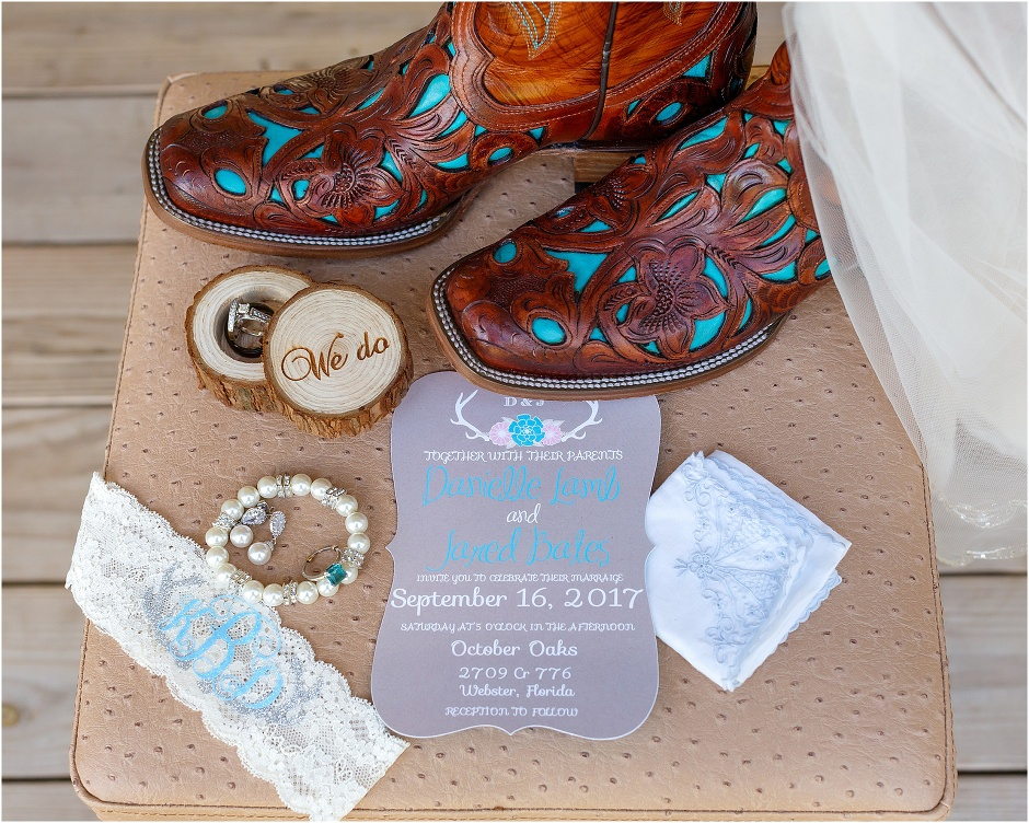 Rustic October Oaks Wedding