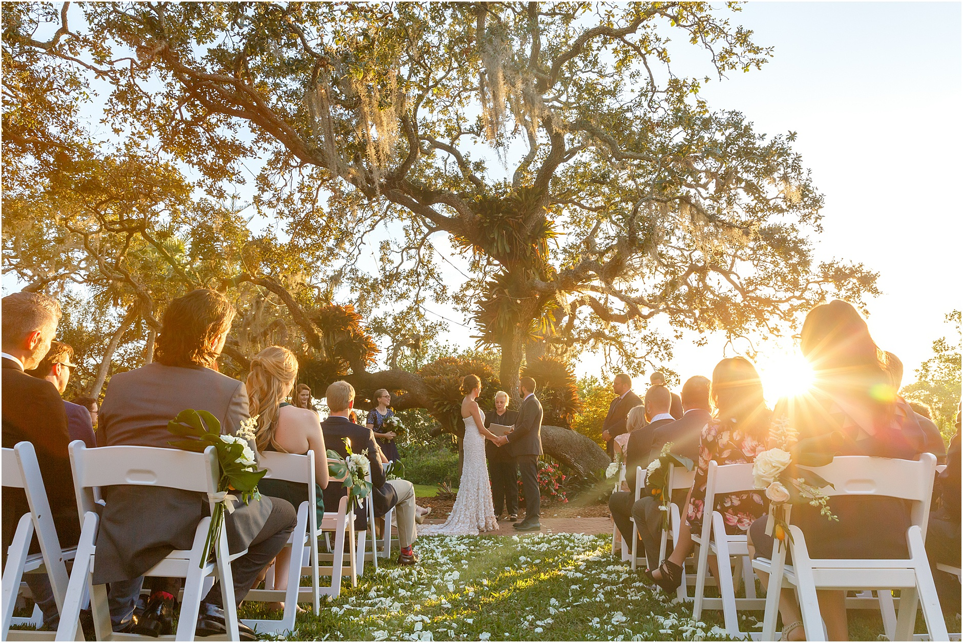 Samantha & Michael | Marie Selby Gardens Wedding
