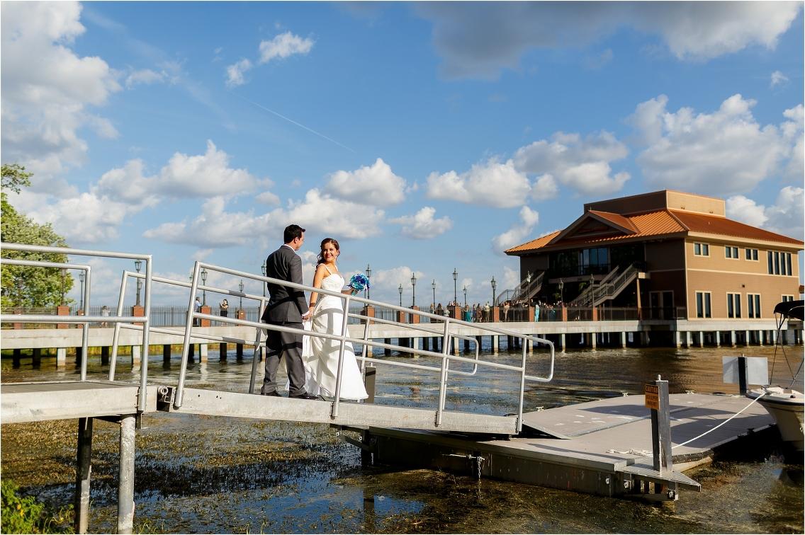 Tavares Pavilion on the Lake Wedding | Wedding Photographer